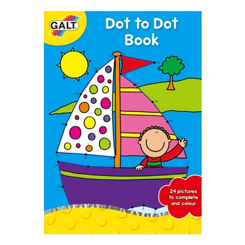 Dot To Dot Book - Carte Uneste Punctele