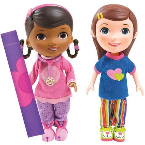 Figurine Doc And Emmie Slumber Party