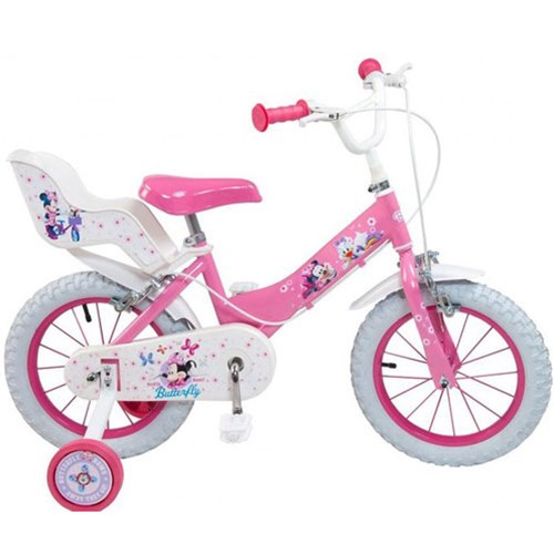 Bicicleta Mickey Mouse Club House 14 inch Roz