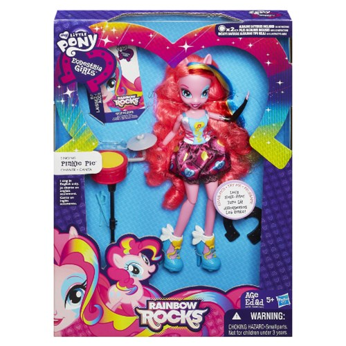 My Little Pony Equstria Girls That Rock Pinkie Pie